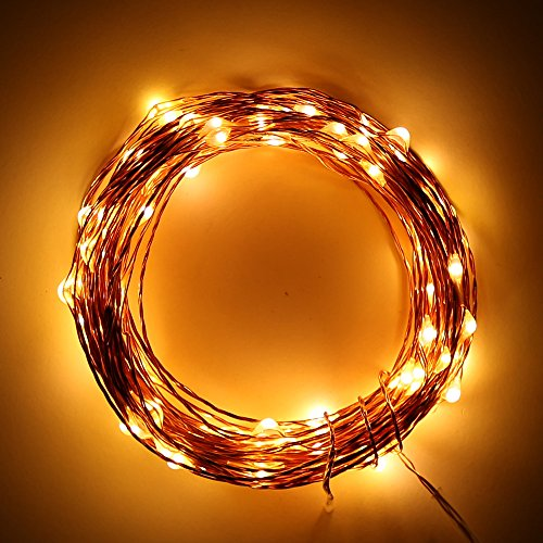 Addlon LED Starry Novelty LED String Lights?Decor Rope Flexible Copper Wire with 16.4ft?50leds ...